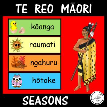 Te Reo Maori - SEASONS - flashcards, worksheets, game, etc