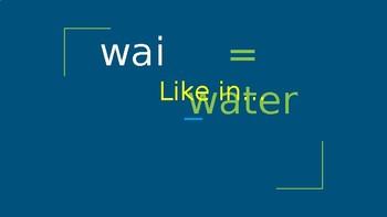 Te Reo Maori Slide Show