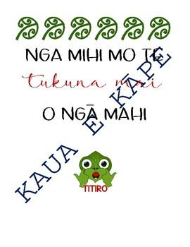 Te Reo  Resources - Māori
