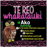 Te Reo Whakatauki ** A K O ** Learning and teaching