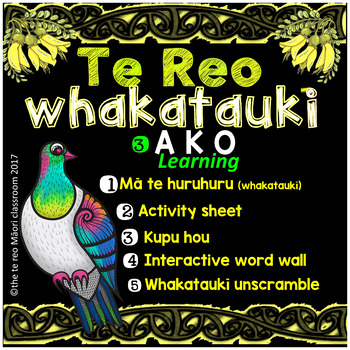 Te Reo Whakatauki ** A  K  O  ** learning