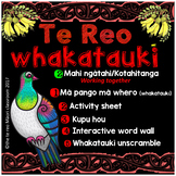 Te Reo Whakatauki **K O T A H I T A N G A ** working together