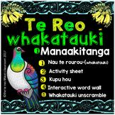 Te Reo Whakatauki- Nau te rourou ** M A N A A K I T A N G A **