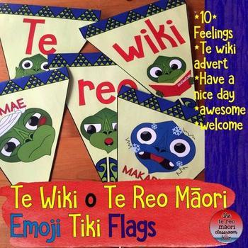 Te Wiki o Te Reo Māori  Emoji Tiki Flags