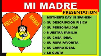 Té con Mamá- Students Mother's Day Presentation in Spanish