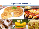 Te gustaria comer...? Traditional Food PPT in Spanish (Realidades 3B)