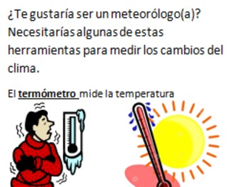 ¿Te has preguntado qué es el Clima?