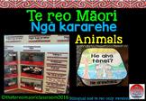 Te reo Māori Animal flashcards, labels and activities** Ngā kararehe**