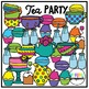 Tea Party (Clip Art for Personal & Commercial Use)