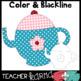 Tea Party Clipart BUNDLE: Clipart, Buntings, Frames & Digi