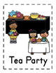Tea Party Dramatic Play Set