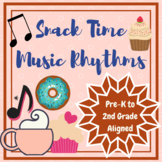 Tea Party Music Notes: Pre-K to 2nd Year Classroom Music Activity