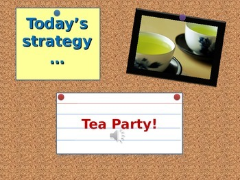 Tea Party Strategy
