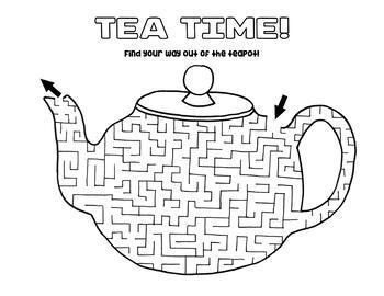 Tea Pot Maze