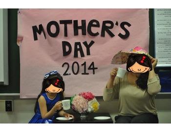 Mother's Day Tea Program