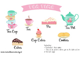 Tea Time Fun Worksheet
