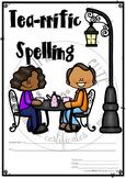 Tea-rrific Spelling