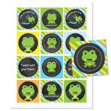 Teacher Gift Tags \\ Chalkboard Frog Theme