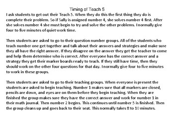 Teach 5: 2nd Nine Weeks --5th Grade Common Core