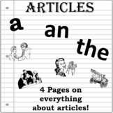 ARTICLES- Grammar Rules and Practice A, AN, THE