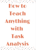 Teach Anything with Task Analysis