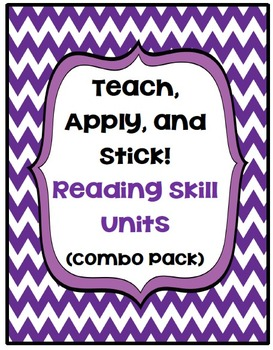 Teach, Apply, and Stick:  Reading Skill Units (Combo Pack)