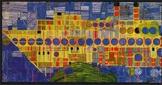 Art Lesson Hundertwasser K - 5th Grade Singing Steamer Art History Biography ELA