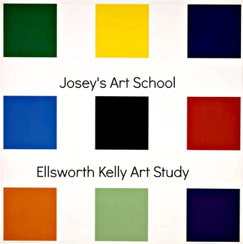 Art Lesson Teach Ellsworth Kelly K - 5 Nine Squares Art History and Lesson