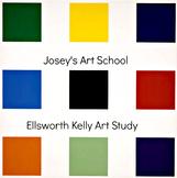 Art Lesson Ellsworth Kelly Grades K - 5 Nine Squares Art H