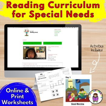 Reading Curriculum for Special Needs