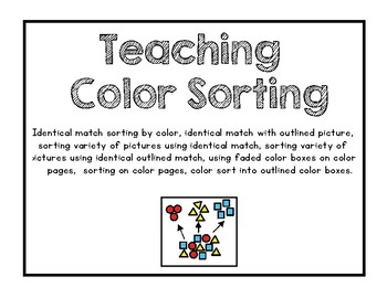 Teach Color Sorting