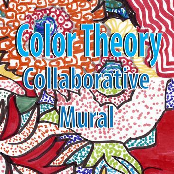 Unique Color Theory Collaborative Mural project