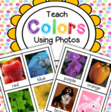 Teach Colors Activities and Printables Using Photos