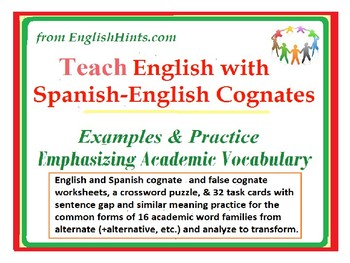 what is the meaning of cognate