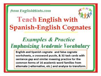 Teach English with Spanish-English Cognates: Examples, Pra