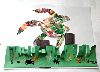 Art Lesson Teach Eric Carle to Grades K-5 Art History and Project