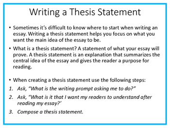 Teach Prompt Writing: Informative Essay Using Time for Kids Power of Quiet