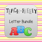 Teach Freely Letter Bundle
