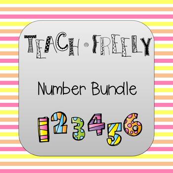 Teach Freely Number Bundle