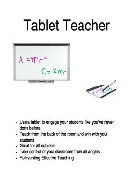 Teach From a Tablet