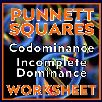 Teach Genetics:  Dominance, Incomplete Dominance & Codominance Lesson
