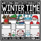 Winter Writing Prompts 3rd Grade 4th Grade Teach-Go Pennants® Christmas Crafts