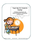 Teach How It's Tested! Grades 3-5 A Reading Comp Test Prep Strategy Free!