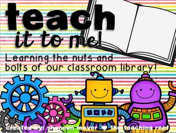 Teach It To Me: Classroom Library