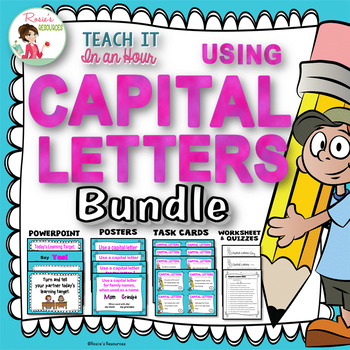 Language Arts Power Point Bundle with Activities