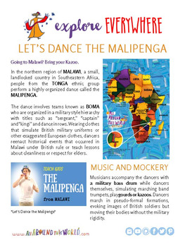 "Teach Kids About Africa – ""Dance the Malipenga"" -- All Around This World"