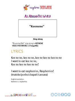 "Teach Kids About Africa -- Let's Chant ""Keenene"" -- All Around This World"