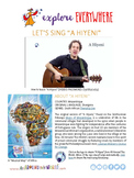 """Teach Kids About Africa -- Let's Sing """"A Hiyeni"""" -- All Around This World"""