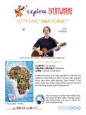 """Teach Kids About Africa -- Let's Sing """"Awa Yombei"""" -- All"""