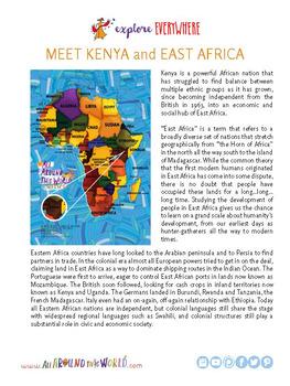 """Teach Kids About Africa -- Let's Sing """"Kipenzi Changu"""" -- All Around This World"""